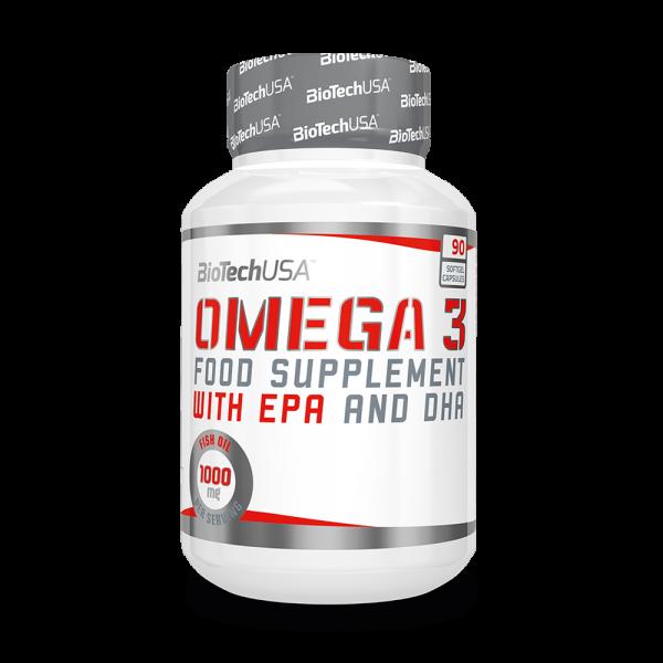 BioTech Omega 3 90 Softgel-Kapseln