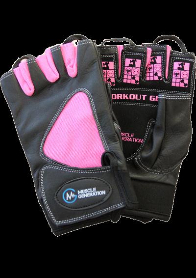 Musclegeneration Workout Gloves pink