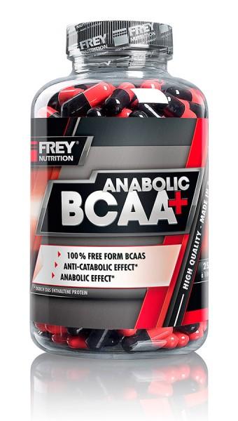 Frey Nutrition Anabolic BCAA+ 250 Kapseln