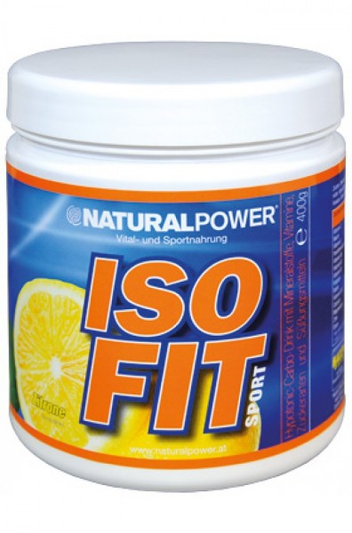 Natural Power Iso Fit Sport 400g