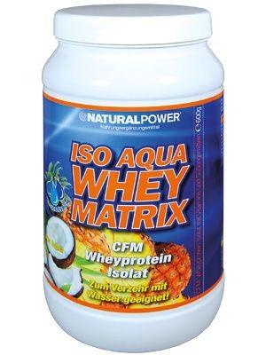 Natural Power Iso Whey Matrix 600g