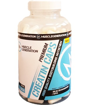 Musclegeneration Creatine Caps Premium 200 Kapseln
