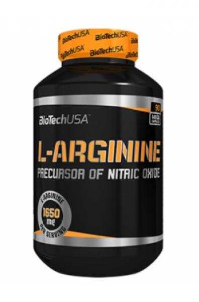 Biotech USA L-Arginine 90 Kapseln