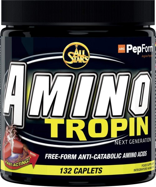 All Stars Amino Tropin 132 Tabletten - MHD 23.04.2018