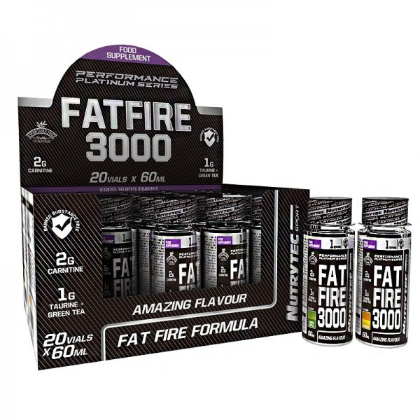 Nutrytec Performance Paltinum Series Fatfire 3000 60ml