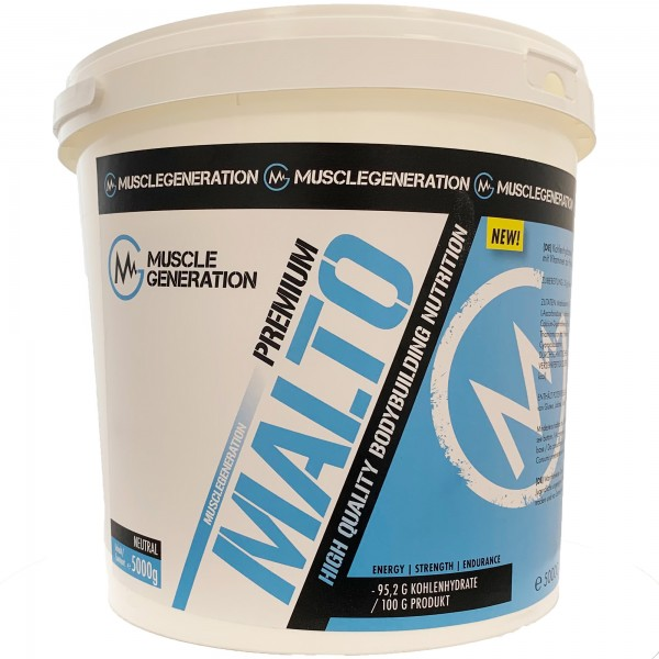 Musclegeneration Malto Premium 5000 g