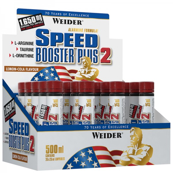Weider Speed Booster Plus 2 - Shot 25ml