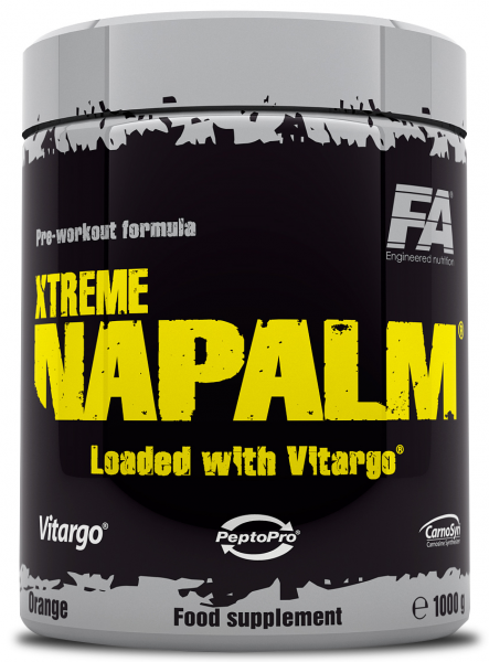 Fitness Authority Xtreme Napalm + Vitargo 1000g