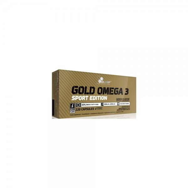 Olimp Gold Omega 3 Sport Edition 120 Kapseln