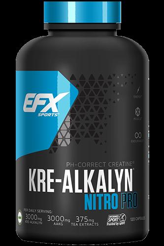 EFX Kre Alkalyn Nitro Pro 120 Kapseln
