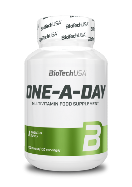 BioTech USA One-a-day 100 Tabletten
