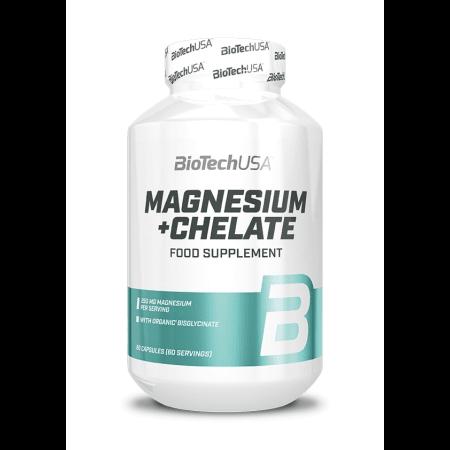 BioTech USA Magnesium + Chelate 60 Kapseln