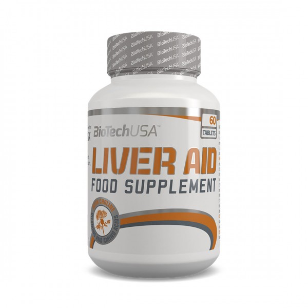 BioTech USA Liver Aid 60 Tabletten
