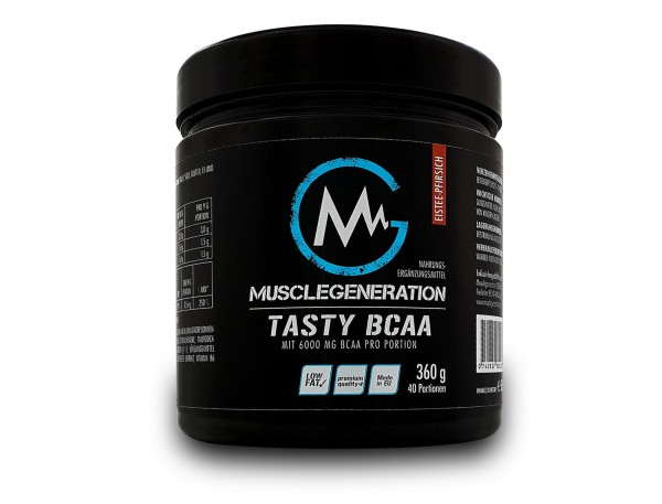 Musclegeneration Tasty BCAA 360g
