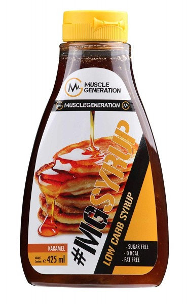 Musclegeneration #MGSYRUP Low Carb Sirup 425ml - MHD: 14.08.2019