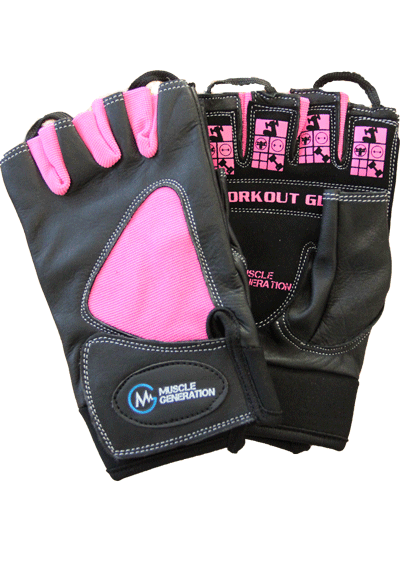 Musclegeneration Workout Gloves pink