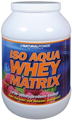 Natural Power Iso Aqua Whey Matrix