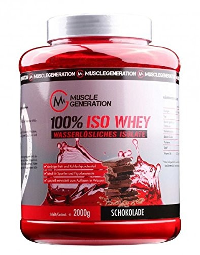 Musclegeneration 100% Iso Whey 2000g
