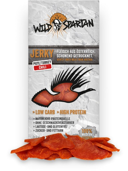 Wild Spartan Pute Chili 40g