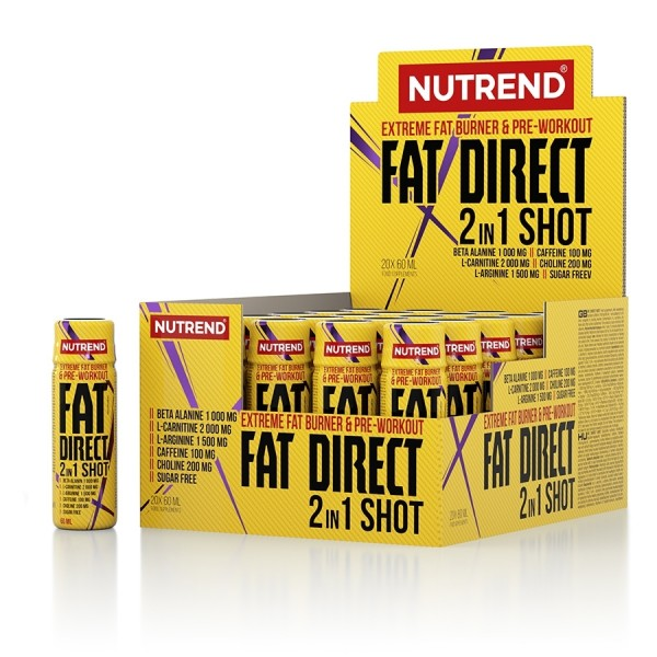 Nutrend Fat Direct 2n1 Shot 60ml