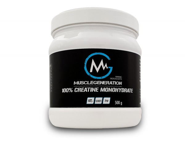 Musclegeneration 100% Creatine Monohydrate 500g neutral
