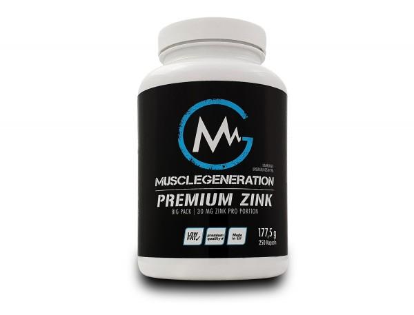 Musclegeneration Premium Zink 250 Kapseln
