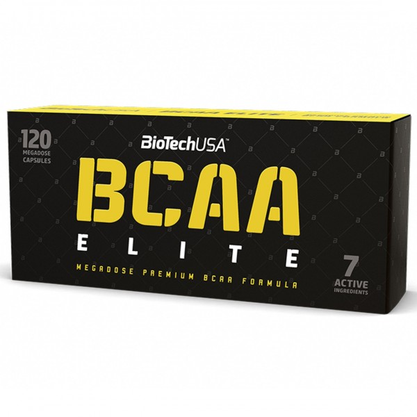BioTech USA BCAA Elite 120 Kapseln