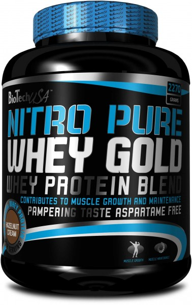 BioTech USA Nitro Pure Whey Gold 2270g