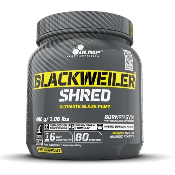 Olimp Sport Nutrition Blackweiler Shred 480 g