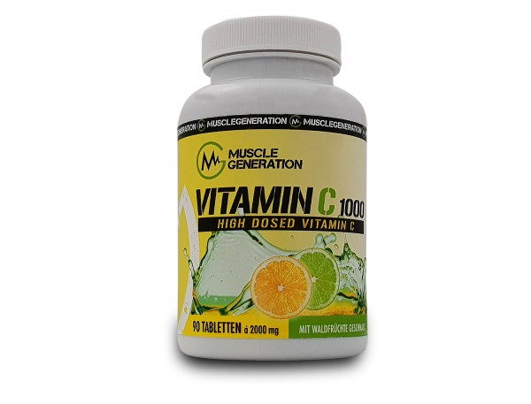 Musclegeneration Vitamin C 1000 90 Tabletten
