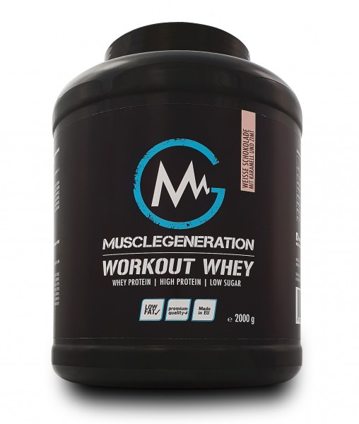 Musclegeneration Workout Whey 2000g MHD:07/2019