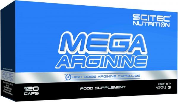 Scitec Nutrition Mega Arginine 120 Kapseln