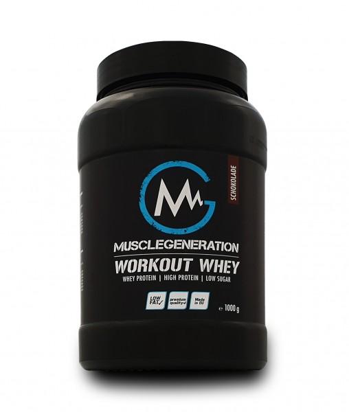 Musclegeneration Workout Whey 1000g