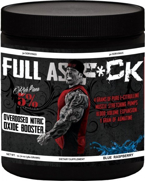 5% Nutrition Full As F*ck Overdosed Nitric Oxide Booster 387g