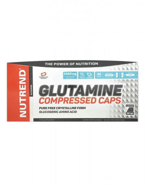 Nutrend Glutamine Compressed Caps 120 Kapseln